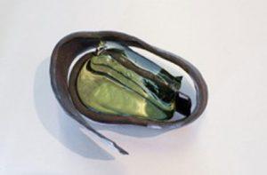 Geschmiedetes Eisen-Glas