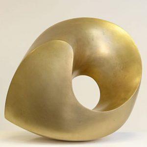 """""""Wirbel"""", Bronze, 2019, 42x38x25 cm"""