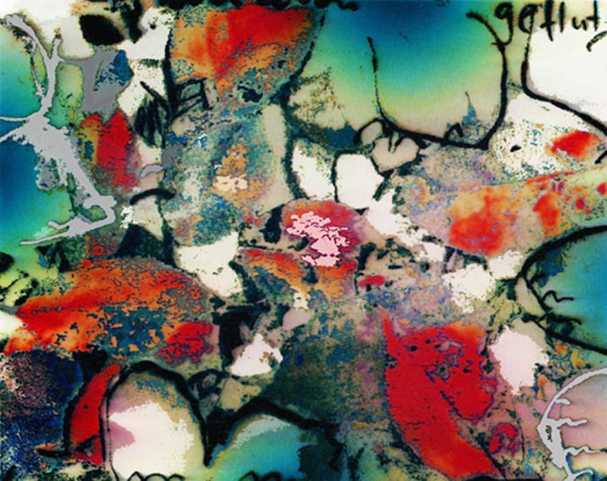 """""""Millimeterarbeit"""", Concept-Collage, 2009"""