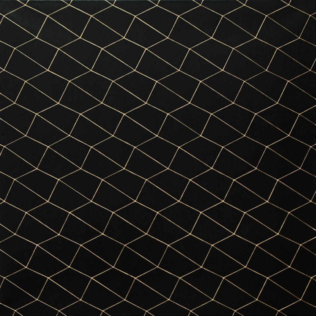 Quadrat 4, 2020, Acryl auf Baumwolle, 70 x 70 cm