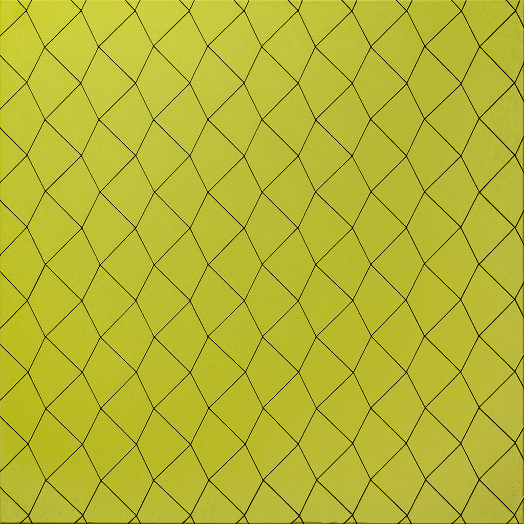 Quadrat 5, 2020, Acryl auf Baumwolle, 70 x 70 cm