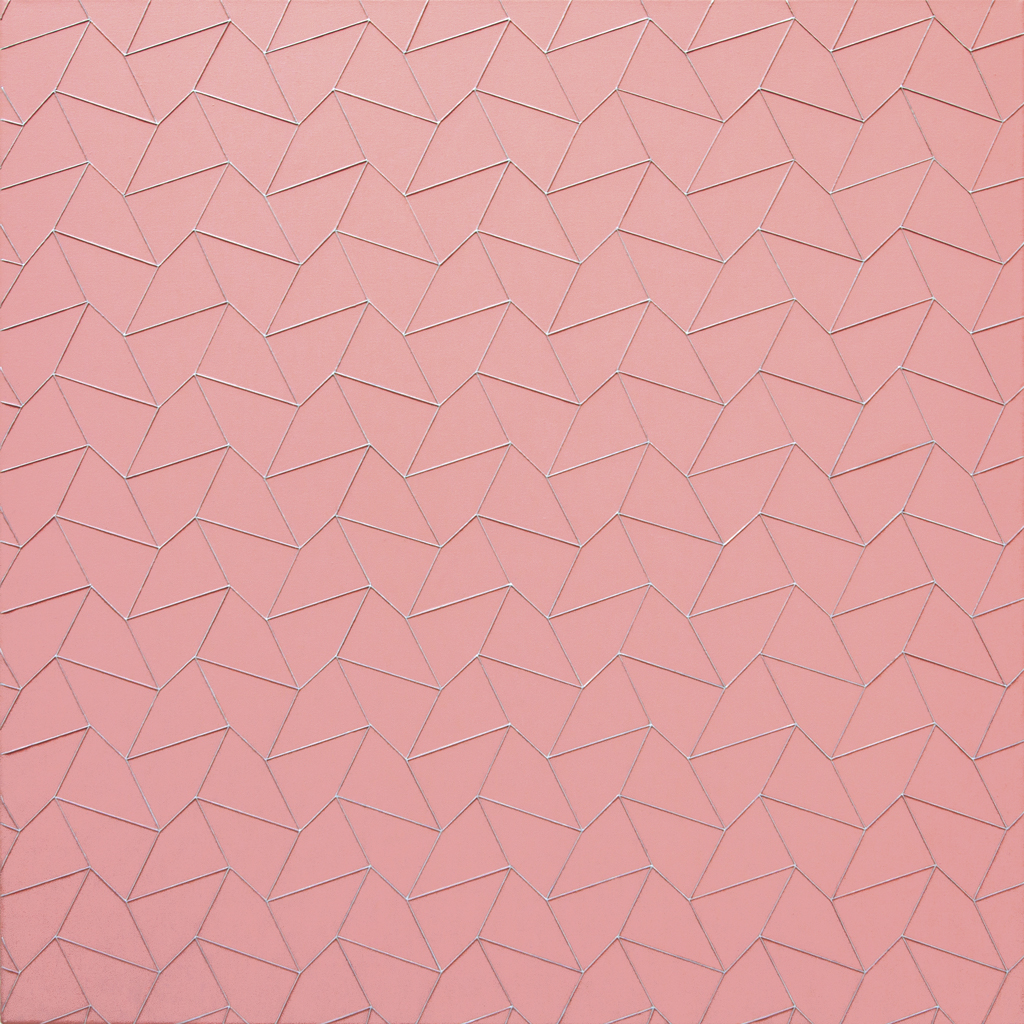 Quadrat 2, 2020, Acryl auf Baumwolle, 70 x 70 cm