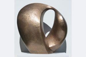 "Wiebke Bader, ""Anfang"", Bronze, 2020, 42 x 44 x 28 cm"
