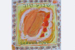 Marlis Glaser, SHAVUA TOV, EINE GUTE WOCHE, 8 - 2020, zum Omer zählen (zum jüdischen Feiertag 'Lag baOmer')