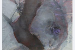 """Arboles"", Beate Bitterwolf, Papierarbeiten auf Keilrahmen,70x100 cm"