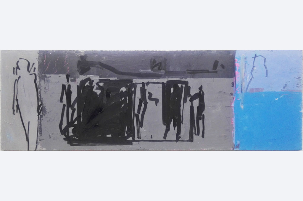 """Pit Degendorfer, """"Schönes quer"""" , 40 x120"""