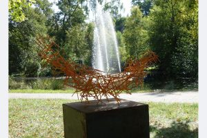 Dieter Gassebner, Skulpturen, Baustahl lackiert