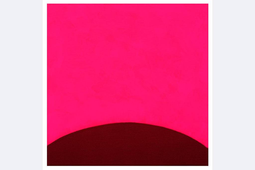 Ingrid von der Heydt, Last Order – SmartiPink2, Stoff, Pigment - Tagesleuchtfarbe, 30x30cm, www.ivdh.de