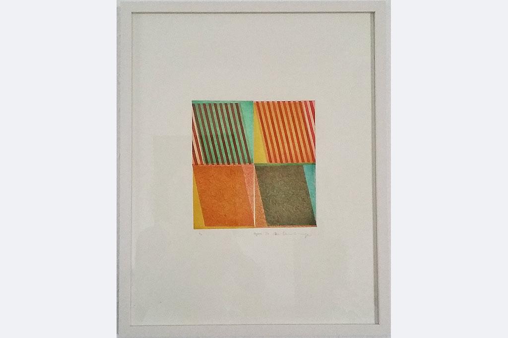 Manfred Ohnesorge, Farbradierung von 8 Platten, m.R., 40 X 50, 380 Euro