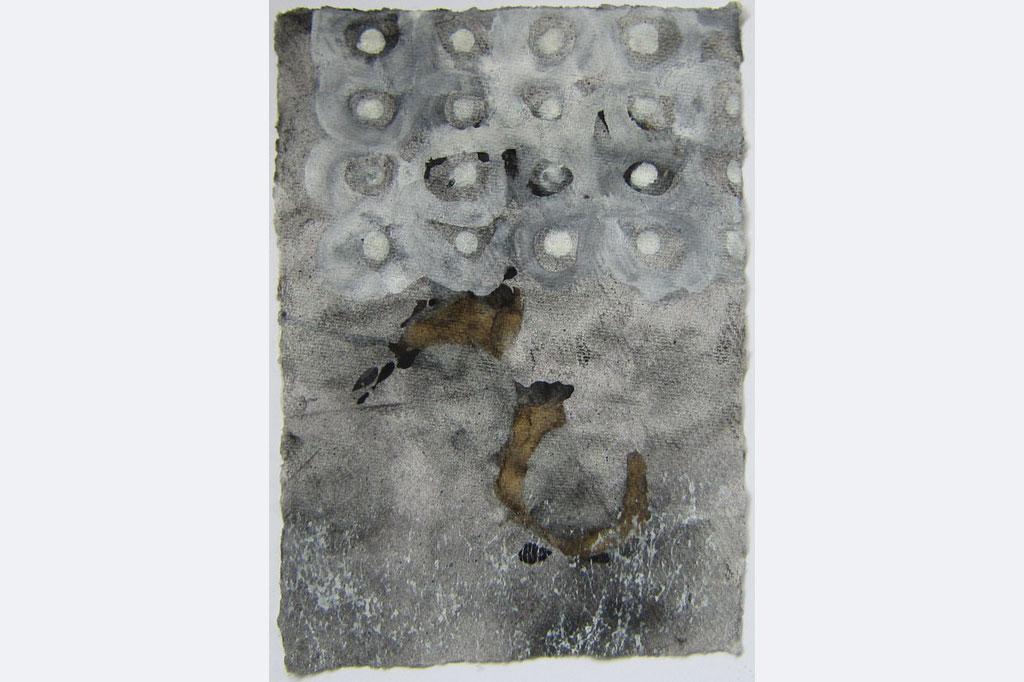 ursula sihler-steidl, ohne Titel, mischtechnik auf bütten, 21 x 29,7, 180 €, 015144570392