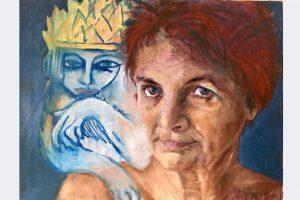 """Christiane Wehner-Suchanek, """"Solveig mit Solveig"""""""