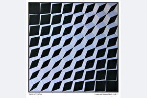 Thiele-Zoll, Acryl auf Leinwand, 45 x 45 cm, gerahmt 700 €