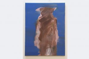 """Verborgene Anwehsenheit"", Stefan Winkler 30x40cm, Acryl auf Leinwand, 2020"