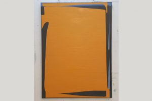 """Ohne Titel"", Stefan Winkler, 55x74 cm, Öl auf Leinwand, 2020"