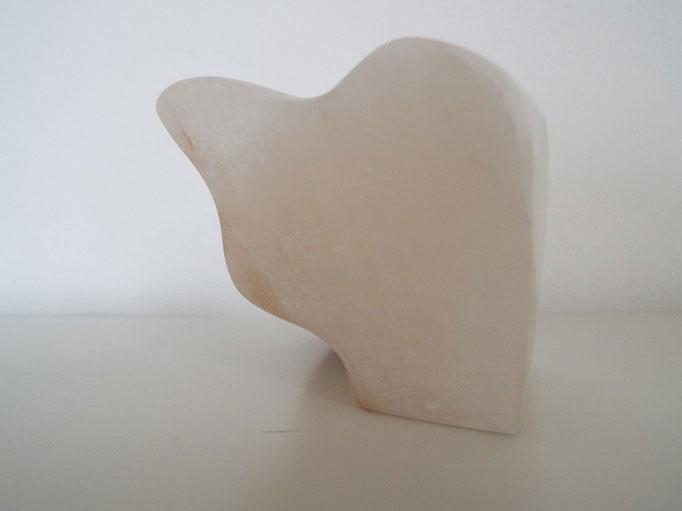 "Skulptur, ""Alab"", 11 x 8 x 5 cm, Alabaster"